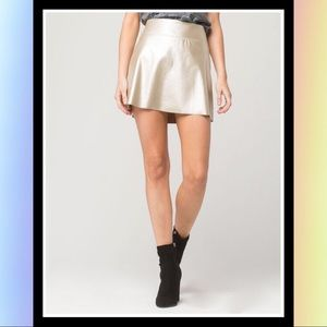 [Full Tilt] Juniors Metallic Skirt